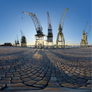 Hdri-360-066-waagnatie-cranes | Other Files | Everything Else