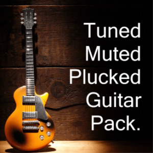Tuned Muted Plucked Guitar Pack E1-A2 | Music | Other