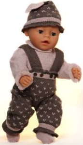 DollKnittingPatterns 0144D GURINE -  Genser, Bukse, Sokker og Hatt -(Norsk) | Crafting | Knitting | Other