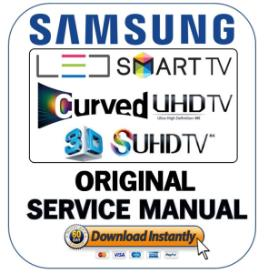 samsung un55f7450 un55f7450af un55f7450afxza led tv service manual