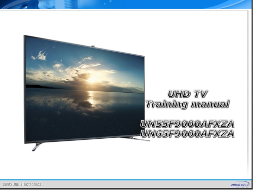First Additional product image for - Samsung UN55F9000 UN55F9000AF UN55F9000AFXZA 4K Ultra HD 3D Smart LED TV Service Manual