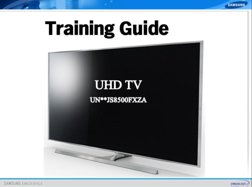 First Additional product image for - Samsung UN55JS8500 UN55JS8500F UN55JS8500FXZA 4K Ultra HD 3D Smart LED TV Service Manual