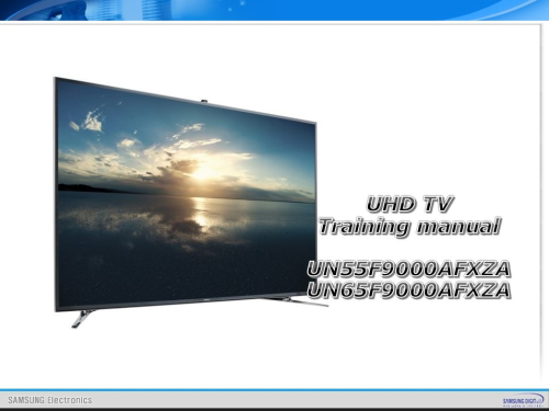 First Additional product image for - Samsung UN65F9000 UN65F9000AF UN65F9000AFXZA 4K Ultra HD 3D Smart LED TV Service Manual
