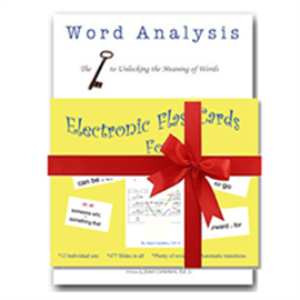 Word Analysis and Flashcards Bundle | eBooks | Education