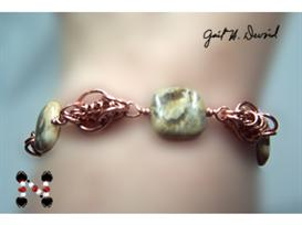 Copper Chain Maille Bracelet | eBooks | Arts and Crafts