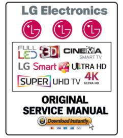 LG 55UF7600 4K 3D LED TV Service Manual and Technicians Guide | eBooks | Technical