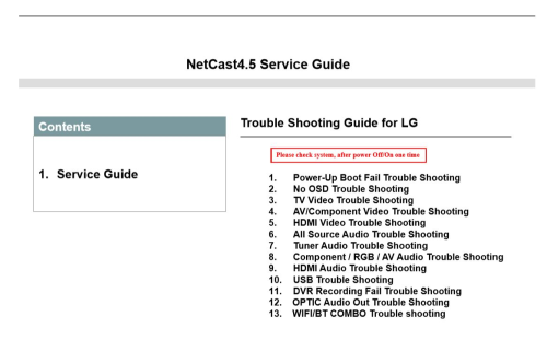 Fourth Additional product image for - LG 60PB6650 UA Service Manual and Technicians Guide