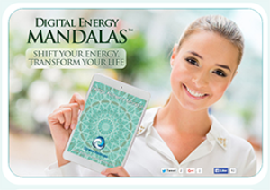golden proportion energy - digital energy mandala
