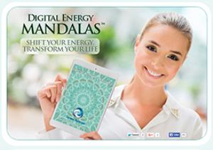 feel good now - digital energy mandala