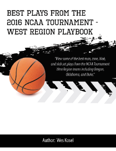 2016 ncaa tournament west region playbook