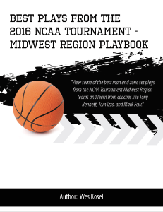 2016 NCAA Tournament Midwest Region Playbook | eBooks | Sports