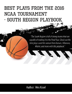 2016 ncaa tournament south region playbook