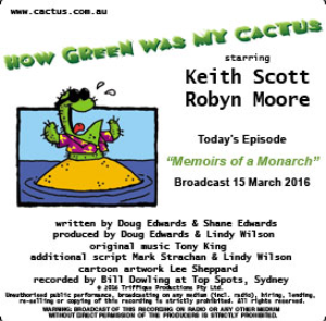 CACTUS 15 Mar 2016: Memoirs of a Monarch | Other Files | Everything Else