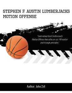 Stephen F. Austin Motion Offense Playbook | eBooks | Sports