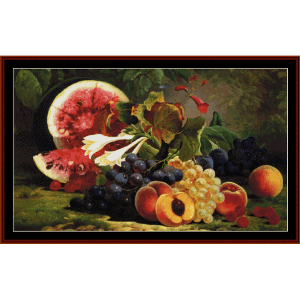 The Bounties of Nature - W.M. Brown cross stitch pattern by Cross Stitch Collectibles | Crafting | Cross-Stitch | Wall Hangings