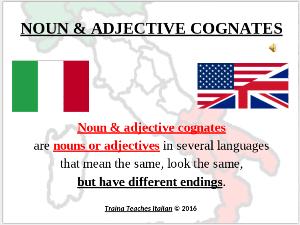 secret cognate codes for learning italian - part ii
