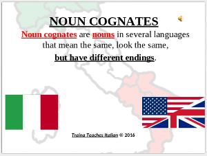 secret cognate codes for learning italian - part vi
