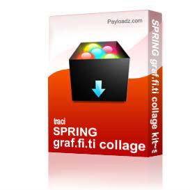 SPRING graf.fi.ti collage kit~scribbles & SCRATCHES | Other Files | Arts and Crafts