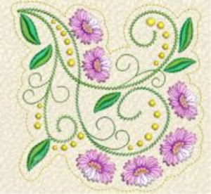 Laura's Delicate Florals Collection PES | Crafting | Embroidery