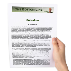 Sucralose - The Bottom Line | Other Files | Documents and Forms