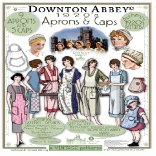 First Additional product image for - 2014 Downton Abbey APRON Booklet
