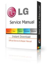 lg w2343t service manual and technicians guide