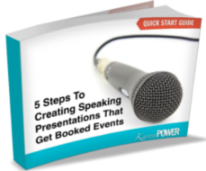 free download: 5 steps to creating speaking presentations