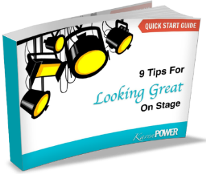 free download: 9 tips for looking great on stage
