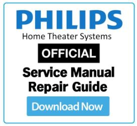 Philips HTS6120 Service Manual and Technicians Guide | eBooks | Technical