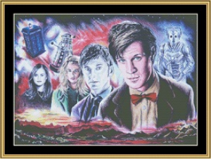 DR. Who II | Crafting | Cross-Stitch | Wall Hangings