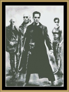 The Matrix | Crafting | Cross-Stitch | Wall Hangings