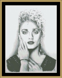 Madonna | Crafting | Cross-Stitch | Wall Hangings