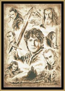 hobbit - sepia