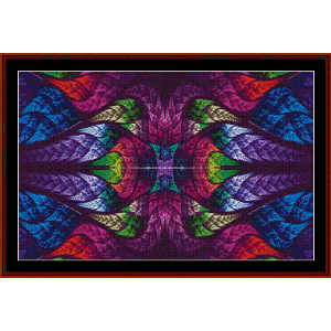 Fractal 553 cross stitch pattern by Cross Stitch Collectibles | Crafting | Cross-Stitch | Wall Hangings