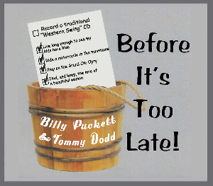 "cd-271 billy puckett & tommy dodd ""before it's too late"""