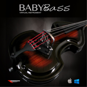 baby bass virtual instrument (plugin for mac vst & au)