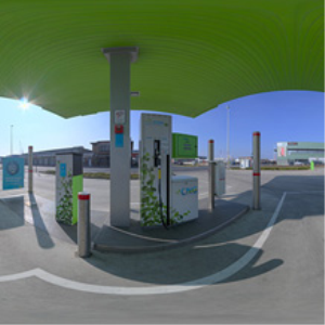 HDRI 360 087-petrol-cng-sun-street | Other Files | Everything Else
