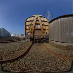 HDRI 360 090-train-tracks | Other Files | Everything Else
