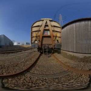 hdri 360 090-train-tracks