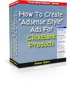 How To Create Adsense Style Ads For Clickbank Products | Movies and Videos | Educational