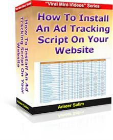 How To Install An Ad Tracking Script On Your Website | eBooks | Business and Money