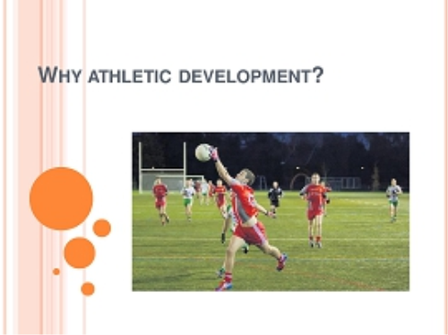 First Additional product image for - Workshop - Physical Demands of GAA and Athletic Development for Young Athletes  (Part 1)