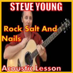 learn to play rock salt and nails by steve young