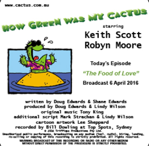 CACTUS 6 April 2016 The Food of Love | Other Files | Everything Else