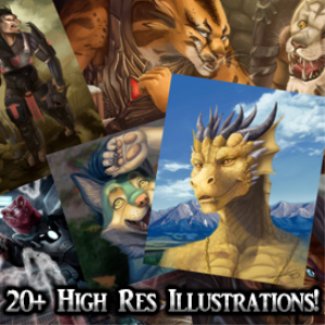 high res art pack