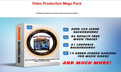 First Additional product image for - Video Production Mega Pack