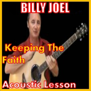 learn to play keeping the faith by billy joel