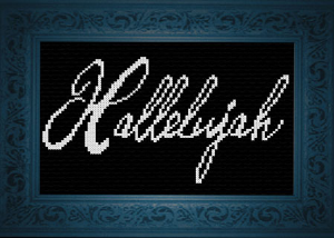 Hallelujah | Crafting | Cross-Stitch | Religious