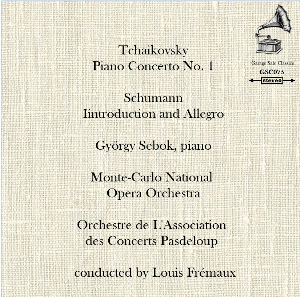 Tchaikosky: PIano Concerto No 1; Schumann: Introduction & Allegro - György Sebok/Louis Frémaux | Music | Classical