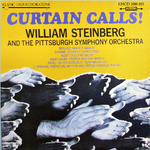 curtain calls! pittsburgh symphony orchestra/william steinberg